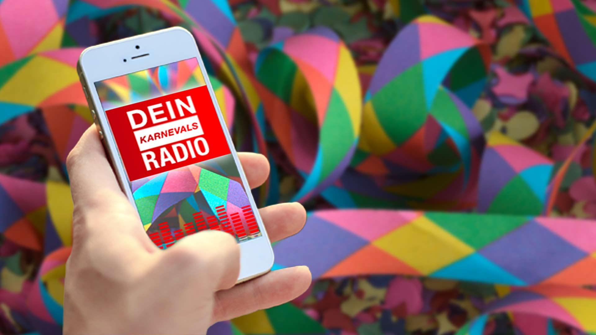 Dein Karnevals Radio bietet Karnevalshits nonstop. Foto: Westfunk
