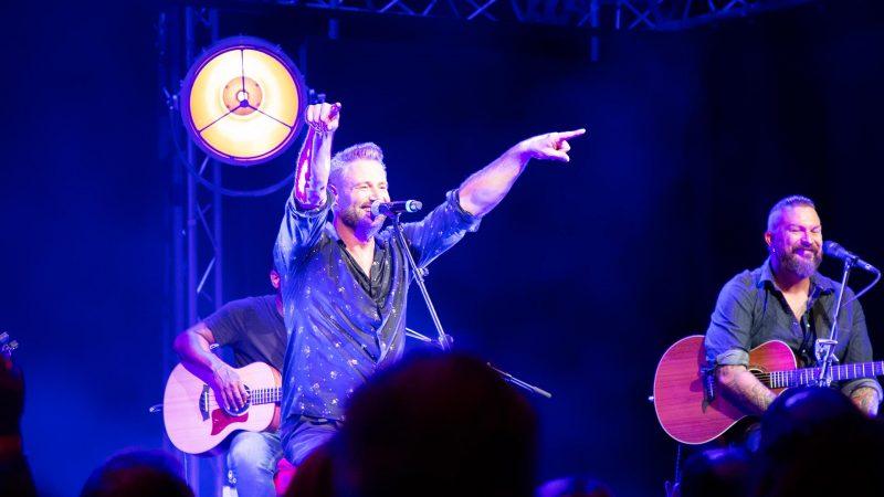 Sasha sorgte beim Exklusiv-Konzert in Oberhausen für ordentlich Stimmung. Foto: Westfunk