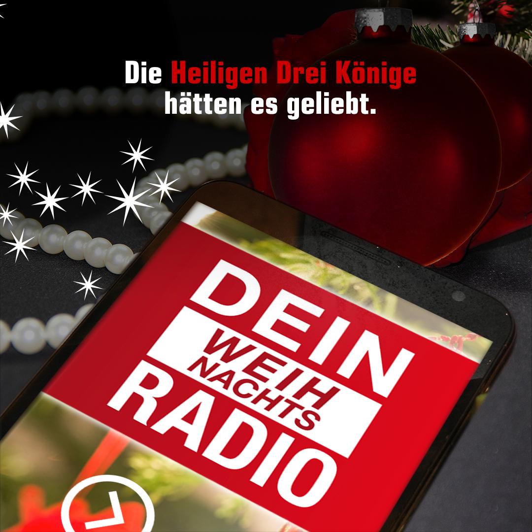 Die Heiligen Drei Könige hätten es geliebt: Dein Weihnachts Radio.