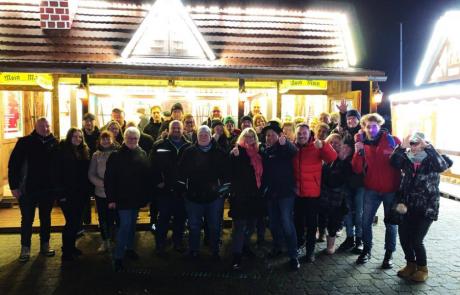 Radio Bochum-Hörerinnen und Hörer an der Nordsee