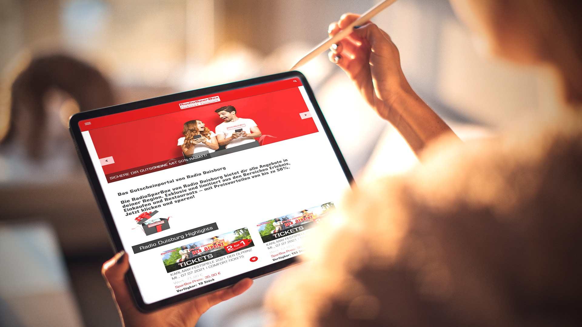 Die RadioSparBox ist das erfolgreiche Gutscheinportal für Anbieter im Ruhrgebiet.