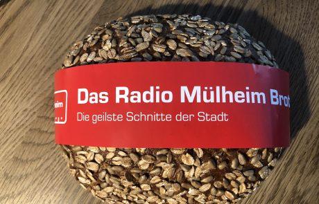 Das Radio Mülheim-Brot in Nahaufnahme. Foto: Sebastian Schulte